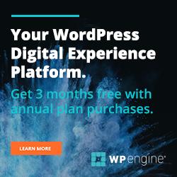 Your WordPress Digital Experience Platform - WP Engine