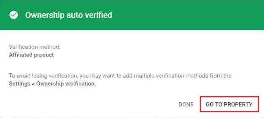 Ownership Auto verified